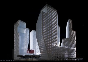 Steven Holl Architects SHA SLICED POROSITY BLOCK Chengdu China