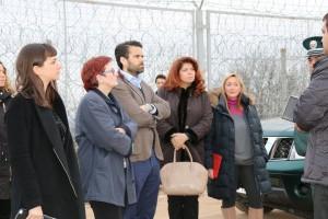 Снимка от защитна ограда