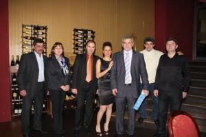Чольо с Виолета кмета и Наско Стефанов