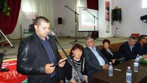 кандидатът за кмет на с. Крумово Ангел Дойчев