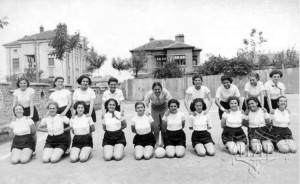 1940 г Ямбол 7 а кл Девическа гимч