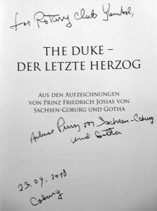 The Duke-inscription